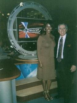 Joseph E. Meyer and Trina Robinson of NBC News